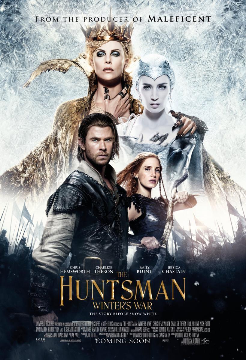 Ver descargar El cazador y la reina del hielo 2016 Online