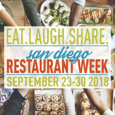 Join Fellow Diners For San Diego Restaurant Week This September 23-30!