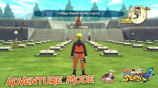 Naruto Adventure 3D Update Versi Terbaru 2017