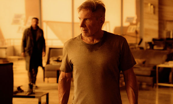 Harrison Ford reprises his iconic role as Deckard in BLADE RUNNER 2049