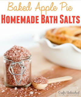 Baked Apple Pie Homemade Bath Salts