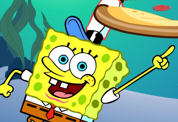 Play SpongeBob's Pizza Toss game