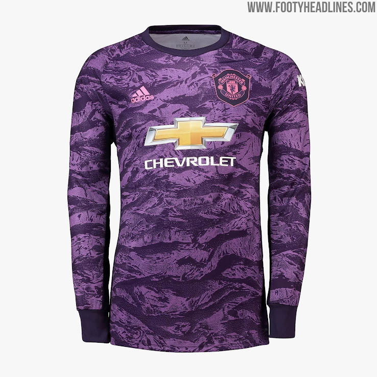 huge selection of 7410b 8e5ef Manchester United 19-20 Goalkeeper Kit Released - Footy ...