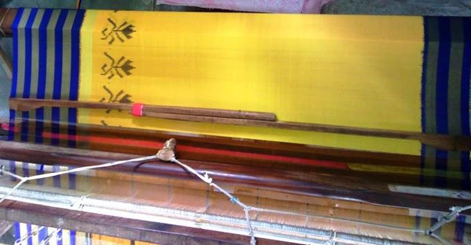 Handloom Tye Dye Silk Ikat Saree