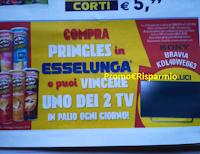 Logo Pringles: Compra e vinci 28 TV Sony Bravia! Scopri l'anticipazione