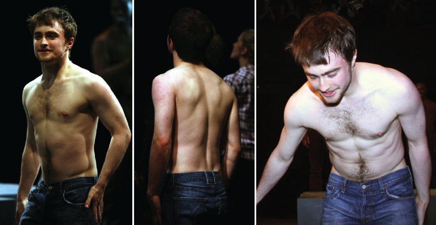 Daniel radcliffe nude in play