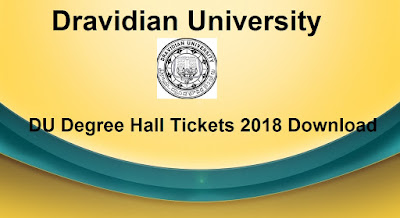 Manabadi DU Degree Hall Tickets 2018 Download, Schools9 DU UG Hall Tickets 2018