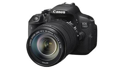 Canon EOS 700D, cámaras reflex