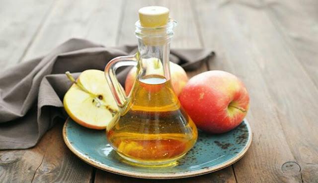 Cuka sari apel buatan sendiri