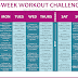 Fit Week: Workout Challenge