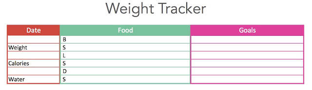 Weight Loss - Free Printable