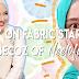 Gigih Beli Fabric Starch Semata Nak Tudung Nampak Kemas