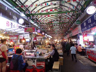 mercado Gwangiang seul