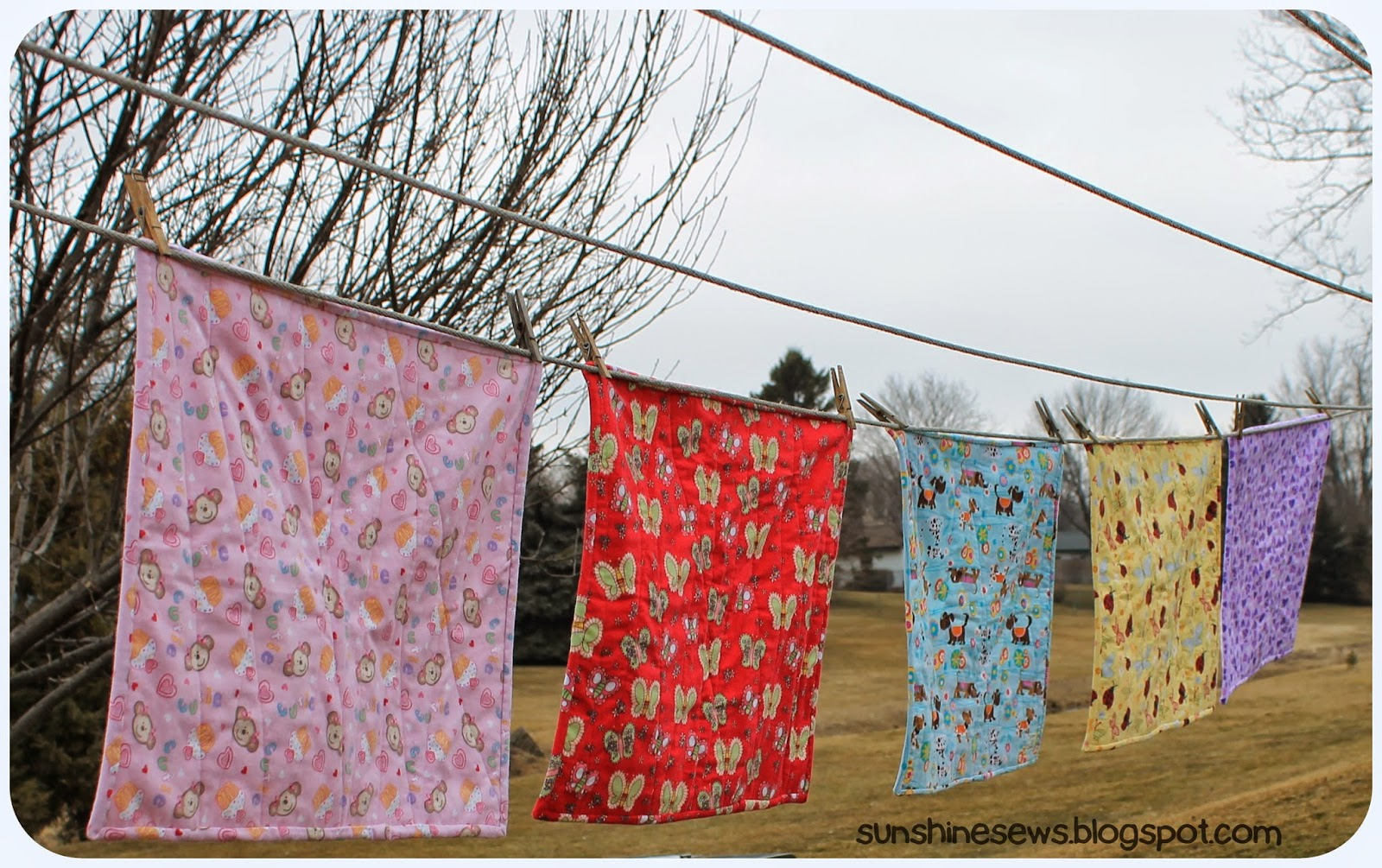 Flannel Baby Quilts