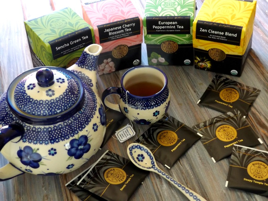 Tea Time with Buddha Teas Giveaway