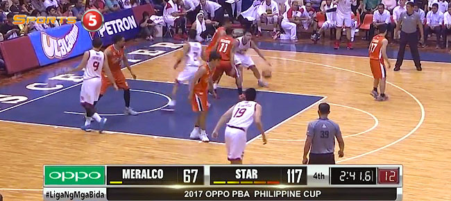 Star Hotshots def. Meralco, 120-73 (REPLAY VIDEO) January 28
