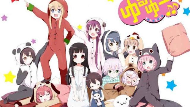 Yuru Yuri San☆Hai! S3 BD Batch Sub Indo