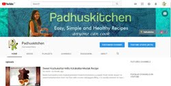 Subscribe Padhuskitchen-Youtube