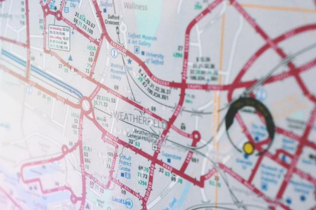 Weatherfield bus map