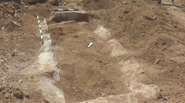 Early Christian Basilica found during construction work on new Stip – Kocani road