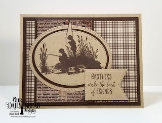 Our Daily Bread Designs Stamp Set: Brother In Christ, Paper Collection: Vintage Ephemera, Ephemera Essentials, Custom Dies:Pierced Rectangles, Double Stitched Rectangles, Rectangles, Ovals, Pierced Ovals, Oval Stitched Rows, Large Banners