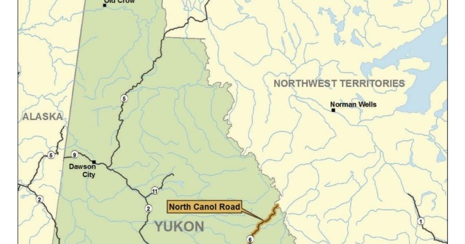 Canada Stock Journal The Canol Road Yukon Canada