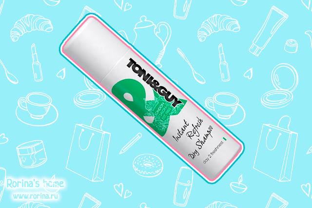 Сухой шампунь TONI&GUY Instant Refresh