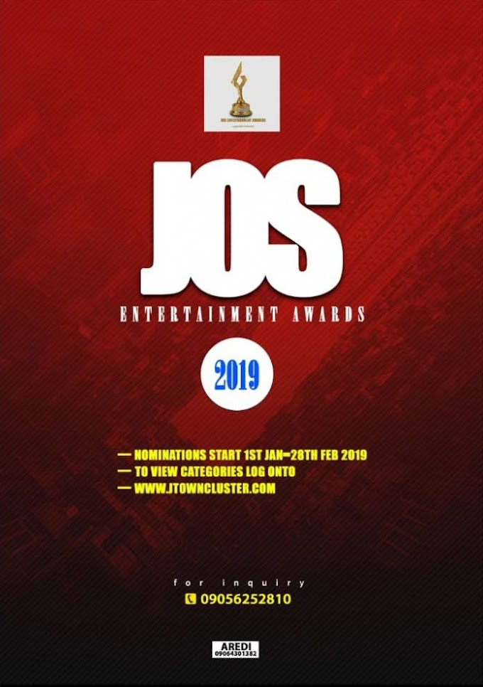 NOMINATION || JOS ENERTAINMENT AWARD NITE (JEAN2019)