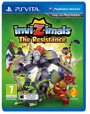 InviZimals The Resistance [PSVita] [EUR] [MAI] [Mega]