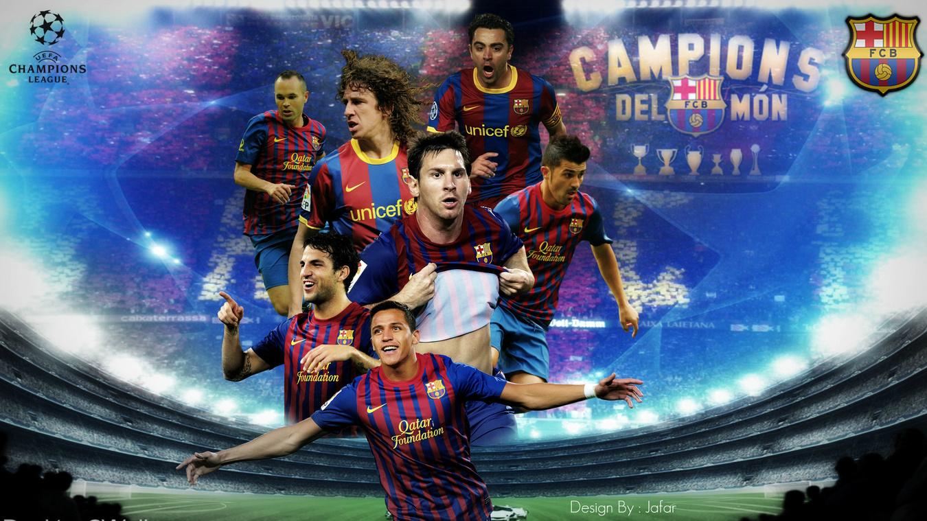 Wallpaper Barcelona Gambar Barca 2012