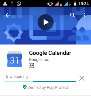 Google play protect during installation