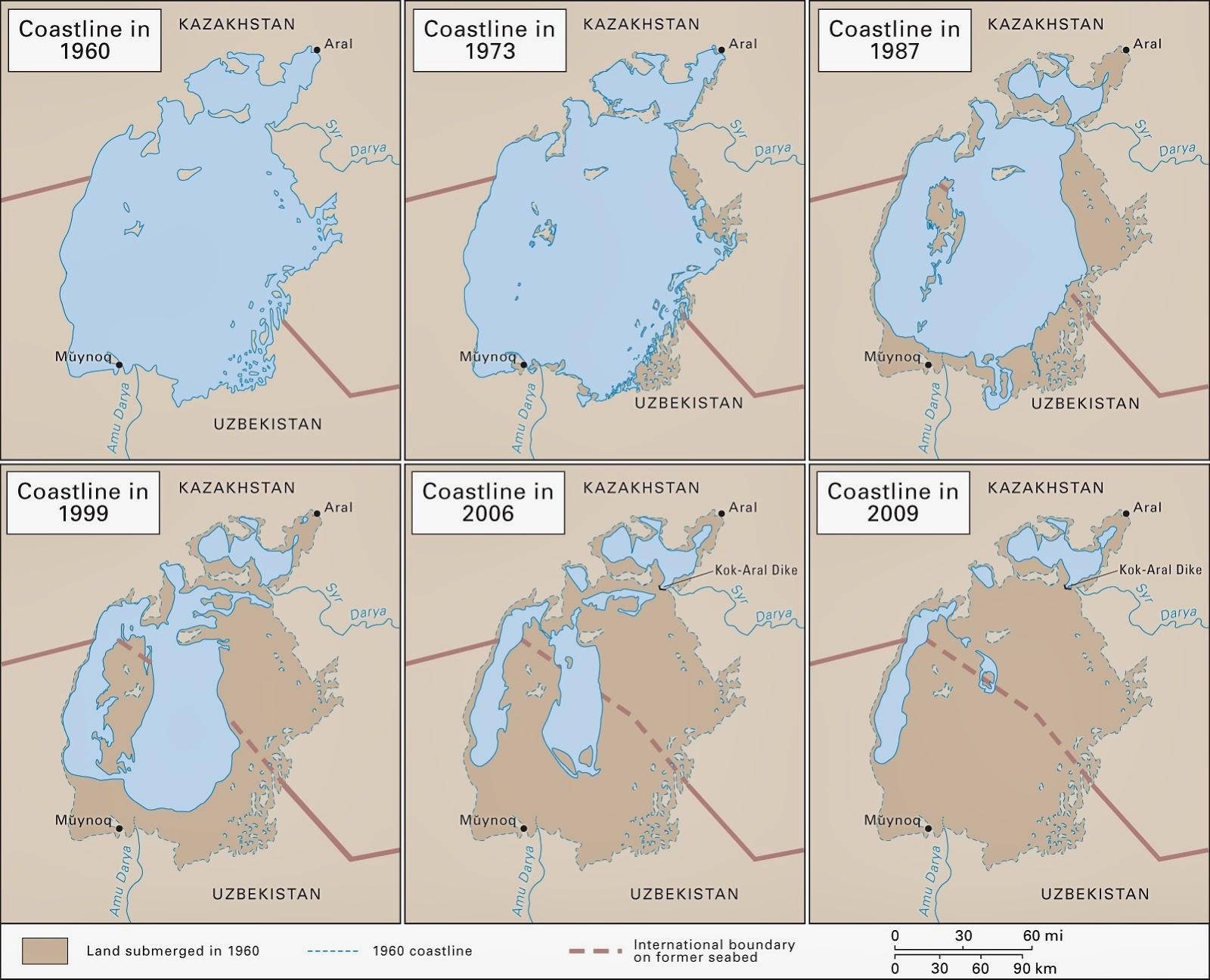 Shrinking Aral Sea 2