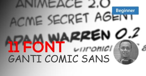 Font Comic Sans