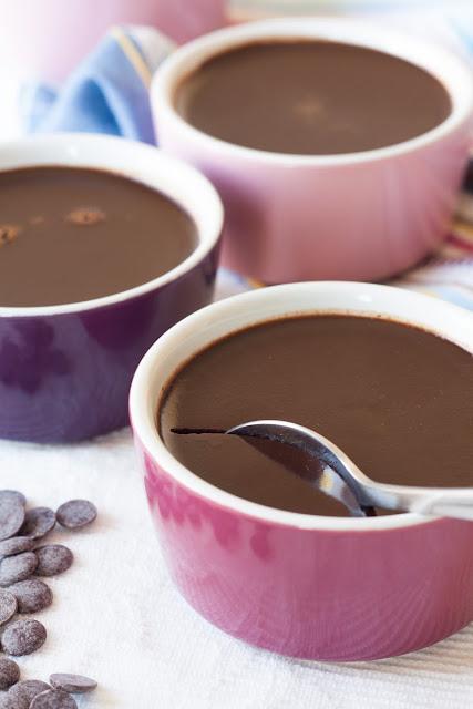 Pečeni čokoladni puding