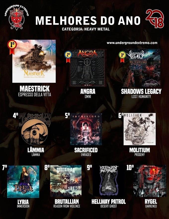 Melhores do ano 2018: Heavy Metal