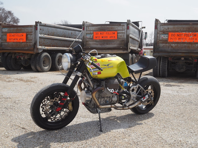 Custom Moto Guzzi V11 Sport by Church of Choppers, Image by Jeff Wright