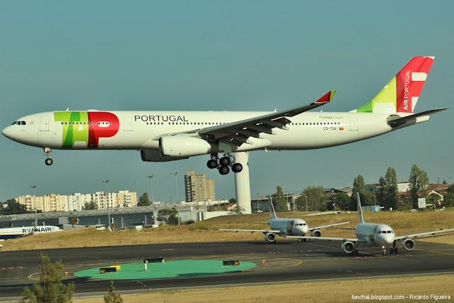 A330-300 - CS-TOX - D. MARIA II - LPPT - AEROPORTO DE LISBOA - AEROPORTO HUMBERTO DELGADO
