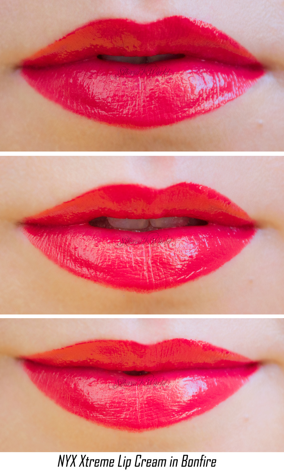 NYX ♥ Xtreme Lip Cream Bonfire