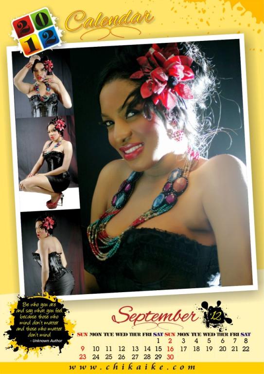 Too Late?? Actress Chika Ike Unveils 2012 Calendar. 10