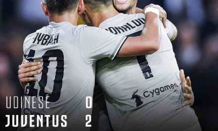 Hasil Udinese vs Juventus Skor Akhir 0-2