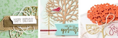 3 More Ideas with Thoughtful Branches exclusive August 2016 bundle from Stampin' Up! #thoughtfulbranches #stampinup www.juliedavison.com