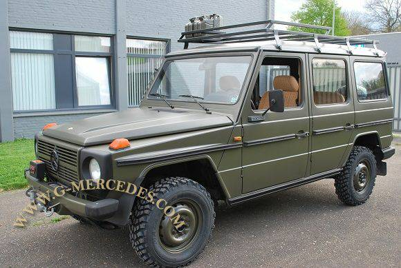 Used Suv For Sale In Florida >> 1982 Mercedes-Benz G-Class 300GD Military 4- door G-Wagon - $25,750 For Sale