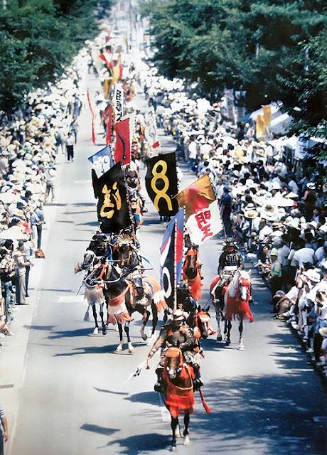 Souma-Nouma-Oi (Samurai Warrior Festival) in Minami-Soma, Fukushima Pref.