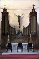Jésus en croix - Cathédrale de la Serena - Chili
