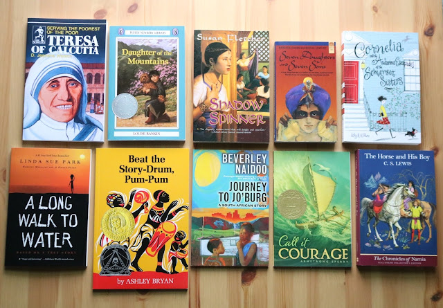 The amazing Sonlight books you will read to your kids with HBL F!