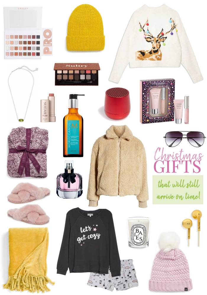 last minute christmas gifts you can get on time