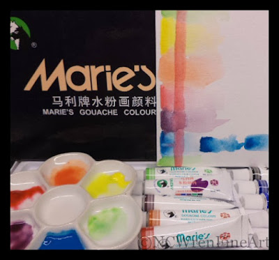 maries gouache review ncwren
