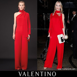 Princess Charlene Style VALENTINO Dress Resort 2015