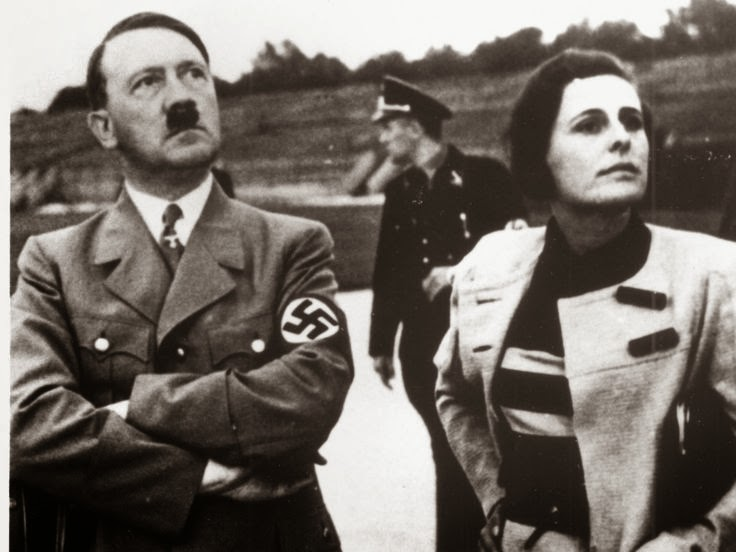 Adolf Hitler Leni Riefenstahl worldwartwo.filminspector.com