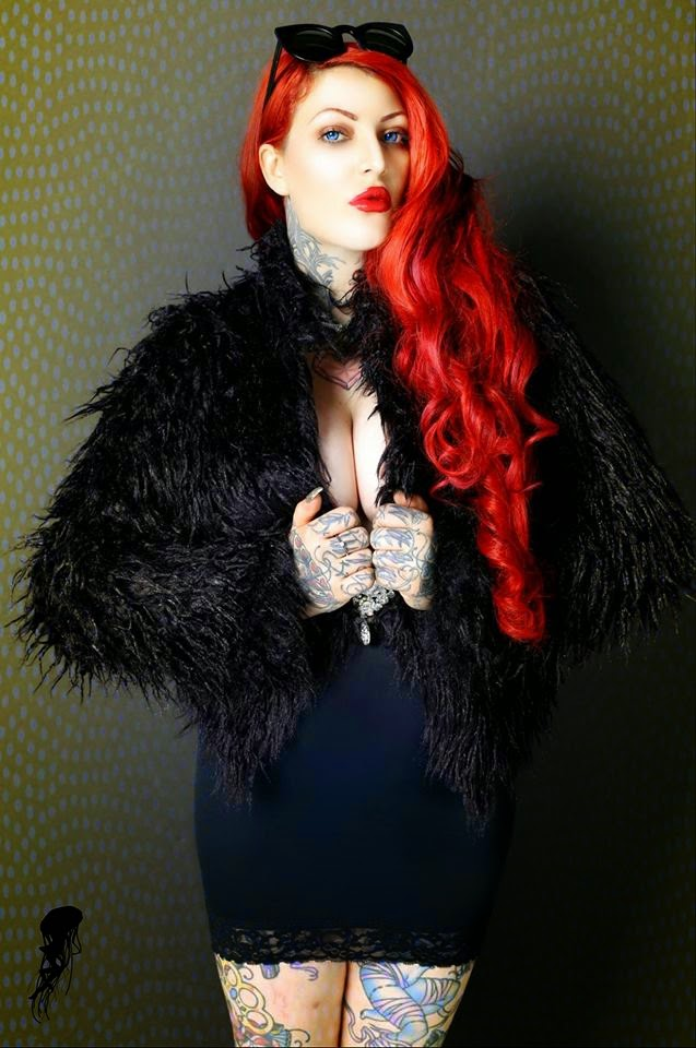 India Rose - Sexy Tattooed Girls-7864